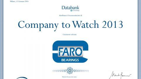 Company to Watch 2013