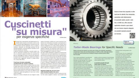 Tailor-Made Bearings for Specific Needs
